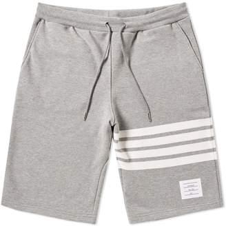 Thom Browne Engineered Stripe Sweat Short