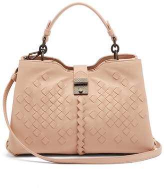 Bottega Veneta Napoli small Intreccaio woven leather handbag