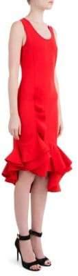 Givenchy Stretch Ruffled Dress