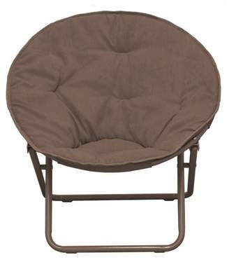 American Kids Bedding American Kids Solid Faux-Fur Saucer Chair, Multiple Colors