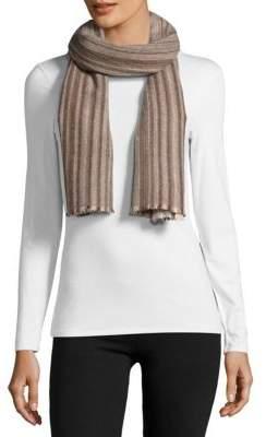 Striped Cashmere Scarf $250 thestylecure.com