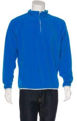 Peter Millar Woven Fleece Sweater