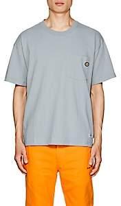 """Dickies CONSTRUCT Men's """"Beverly Hills"""" Cotton T-Shirt - Blue"""
