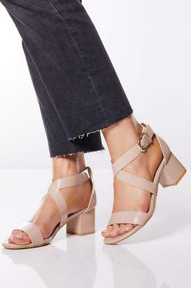 936300cea28 Silver Heel Nude Shoes - ShopStyle UK