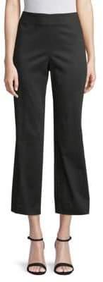 Donna Karan Kick Flare Cropped Pants
