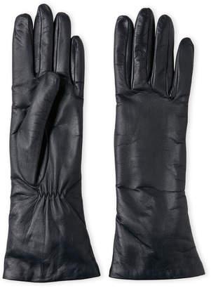 Lab Srl Cashmere-Lined Leather Gloves
