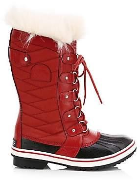 Sorel Women's Tofino II Coated Canvas & Faux Fur Winter Boots