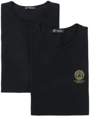 Versace chest logo T-shirt set