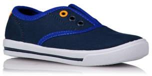 Contrast Trim Slip On Shoes