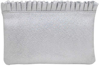 La Regale Satin Pouch Clutch