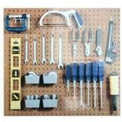 MORE New Pegboard Hook Assortment Kit Storage Shop Garage Organizing Tools Hanger