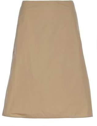 Jil Sander Plain Color Skirt