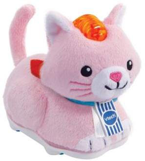 Vtech Toys Toot-Toot Animal Furry Cat Stuffed Animal Soft Toy With Sounds And