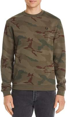 Fred Perry Camouflage-Print Sweatshirt