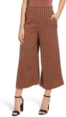 Leith High Rise Wide Leg Crop Pants