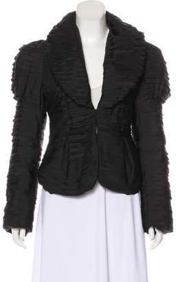 Just Cavalli Pleated Long Sleeve Jacket