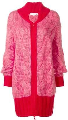 McQ knit mesh cardigan