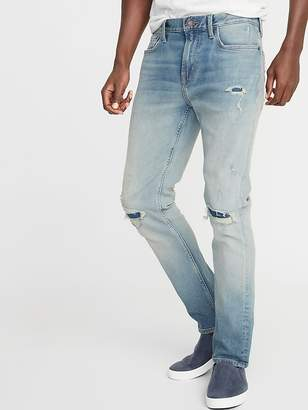 eb3aca175a3086 Old Navy Slim Built-In Flex Distressed Jeans for Men
