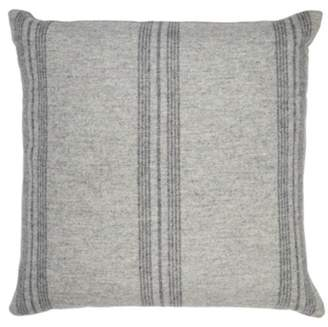The White Company Stripe Wool Cushion