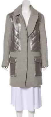 Alexander Wang Wool-Blend Button-Up Coat