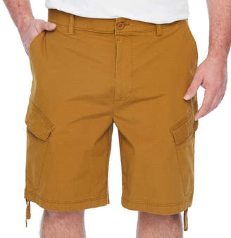 Co THE FOUNDRY SUPPLY The Foundry Big & Tall Supply Mens Stretch Elastic Waist Cargo Short Big and Tall