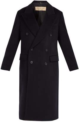 Burberry Double-breasted cashmere overcoat