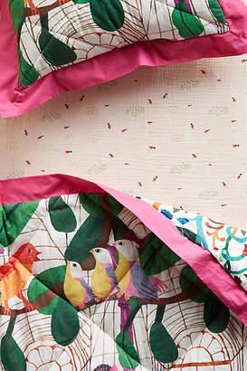 Monika Forsberg Sweet Swan Crib Sheet