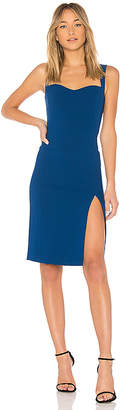 Jill Stuart Sweetheart Neck Midi Dress