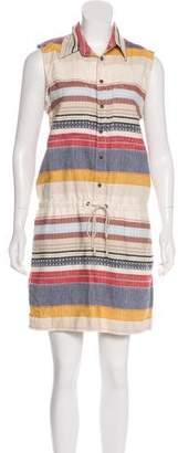 Mother Striped Knee-Length Dress