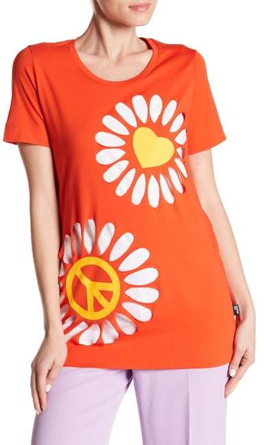 Peace & Love Flower Tee