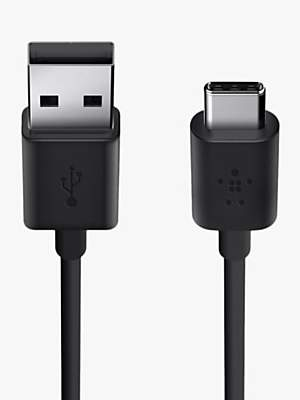 Belkin MIXIT↑ USB-A to USB Type-C Charge and Sync Cable, Black