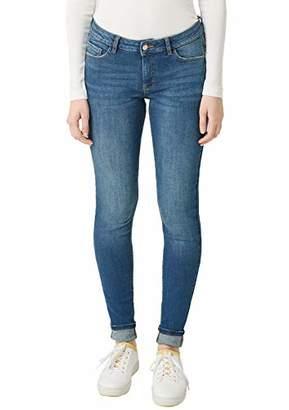 Q/S designed by Women's 41.902.71.2853 Skinny Jeans, (Blue 57z6), (Size: 32/L34)