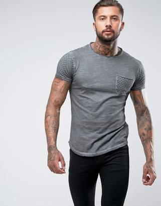 Ringspun Polka Dot Pocket T-Shirt