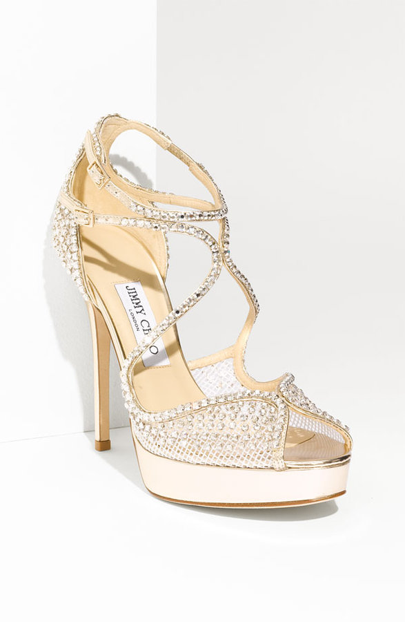 Jimmy Choo 'Fairview' Crystal Embellished Sandal