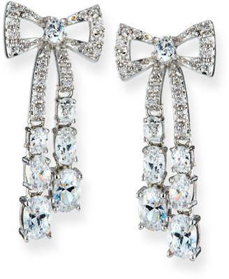 Fallon Rigid Crystal Bow Earrings