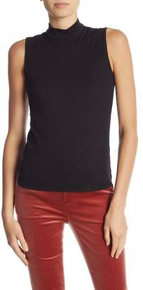 Frame Mock Neck Tank Top