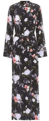 Equipment Britten silk maxi shirt dress