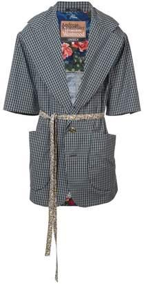 Vivienne Westwood Alma Kaban wrap jacket