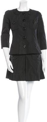 Louis Vuitton Button-Up Short Suit $310 thestylecure.com