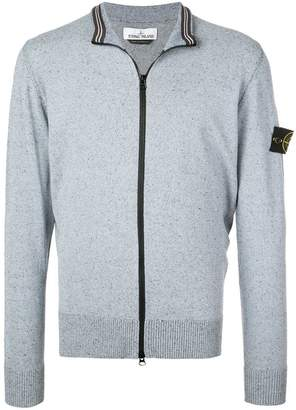 Stone Island speckled cardigan