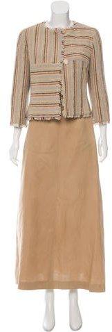 ChanelChanel Tweed Three-Piece Skirt Suit