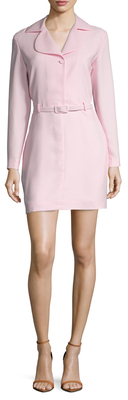 Carven Belted Short Dress