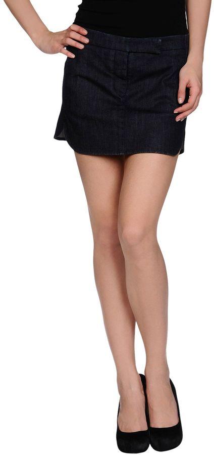 MM6 BY MAISON MARGIELA Denim skirts