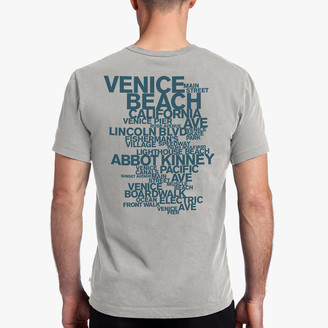 James Perse VENICE BEACH GRAPHIC TEE