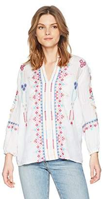 3J Workshop by Johnny Was Women's Amal Paris Effortless Blouse