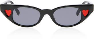 Le Specs Adam Selman X The Heartbreaker Cat-Eye Sunglasses