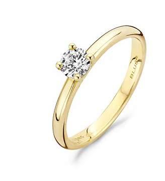 Blush Lingerie Women Cubic Zirconia Ring -Size M 11339YZI/52