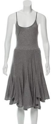 Morgane Le Fay Sleeveless Midi Dress