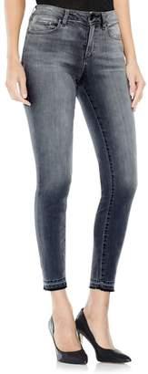 Vince Camuto Grey Released Hem Jeans