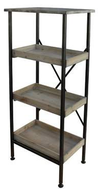 Cheungs Metal Etagere Bookcase